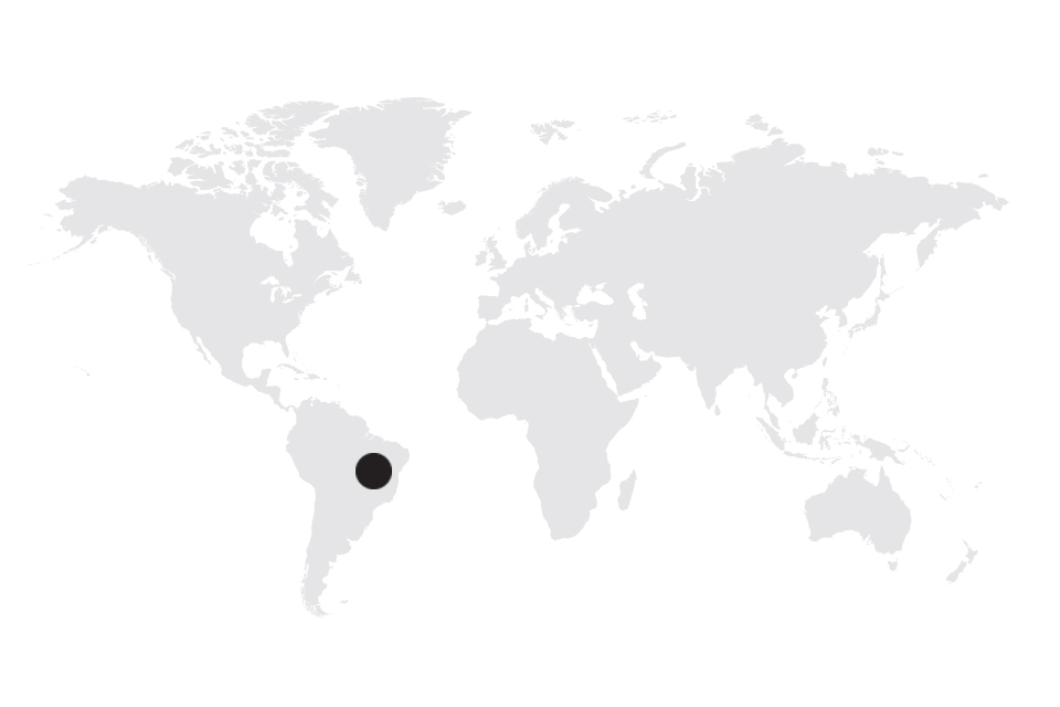 Map image of Brazil