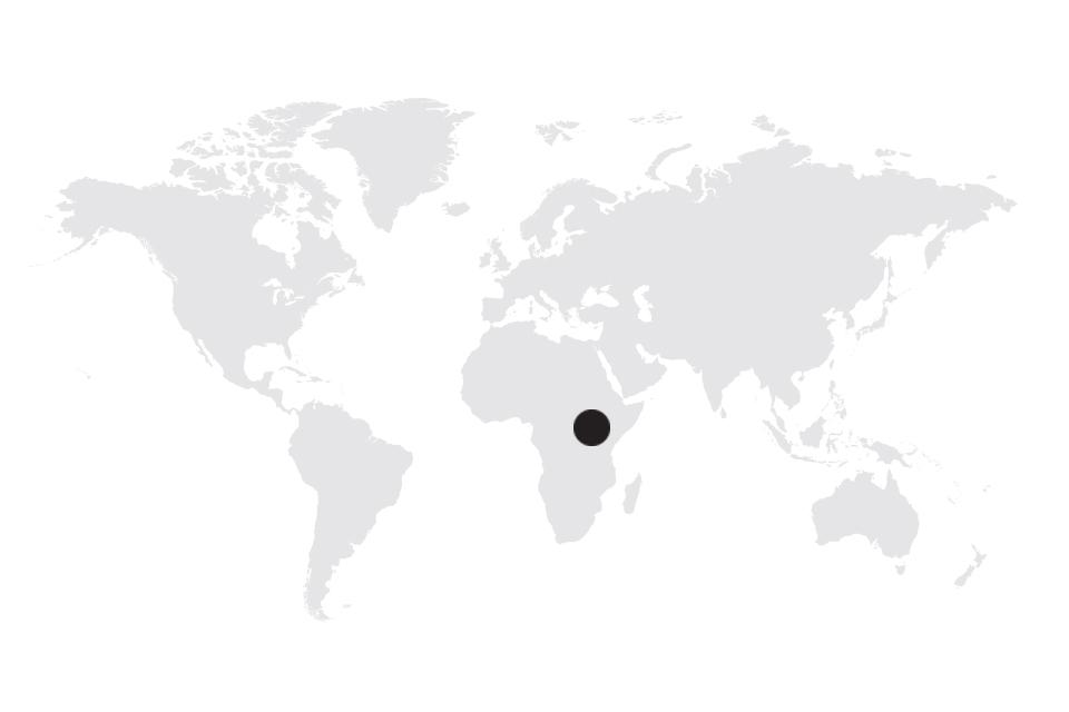 Map image of Uganda